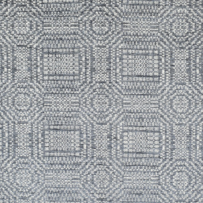 F3239 Slate Fabric: E88, MADE IN USA, GEOMETRIC, TEXTURE, CHENILLE, BLUE, SLATE, GRAY, GREY