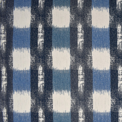 F3244 Atlantic Fabric: E88, MADE IN USA, GEOMETRIC, CHENILLE, BLUE, ATLANTIC