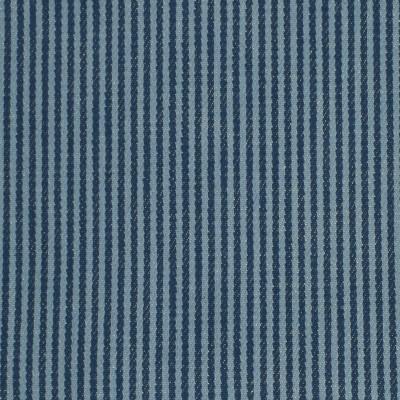 F3245 Caspian Fabric: E88, TWILL, COTTON TWILL, COTTON STRIPE, STRIPE, 100% COTTON, BLUE, CASPIAN, TICKING