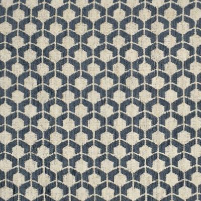F3248 Puddle Fabric: E88, MADE IN USA, GEOMETRIC, TEXTURE, BLUE, SMALL SCALE