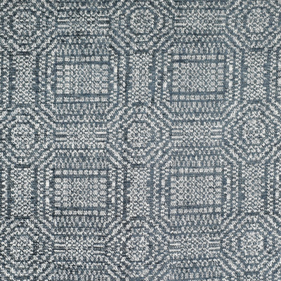 F3249 Denim Fabric: E88, MADE IN USA, GEOMETRIC, CHENILLE, TEXTURE, BLUE, DENIM