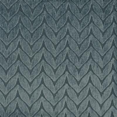 F3250 Calm Fabric: E88, MADE IN USA, GEOMETRIC, CHENILLE, BLUE, DENIM