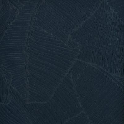 F3256 Mediterranean Fabric: E88, FOLIAGE, MATELASSE, BLUE, TEAL, MEDITERRANEAN, PALM, LEAF