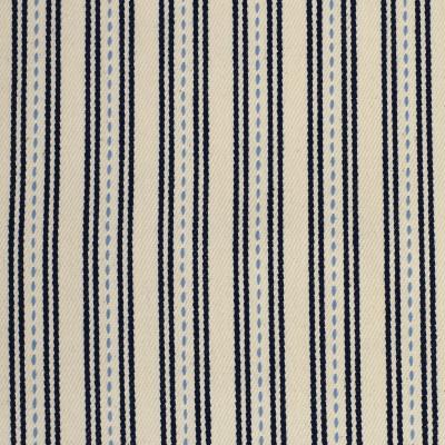 F3257 Bristol Fabric: E88, TWILL, COTTON TWILL, COTTON STRIPE, STRIPE, 100% COTTON, BLUE, BRISTOL, NAVY