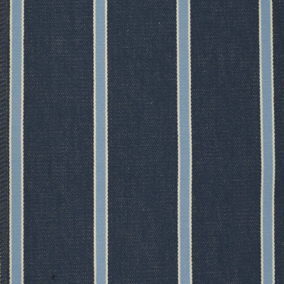 F3259 Caspian Fabric: E88, TWILL, COTTON TWILL, COTTON STRIPE, STRIPE, 100% COTTON, BLUE, CASPIAN