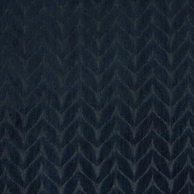 F3262 Lapis Fabric: E88, MADE IN USA, GEOMETRIC, CHENILLE, BLUE, NAVY, LAPIS