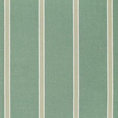 F3274 Aloe Fabric: E89, STRIPE, WOVEN, TWILL, COTTON, 100% COTTON, COTTON STRIPE, TEAL
