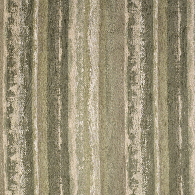 F3282 Meadow Fabric: E89, MADE IN USA, STRIPE, CHENILLE, TEXTURE, GREEN, MEADOW