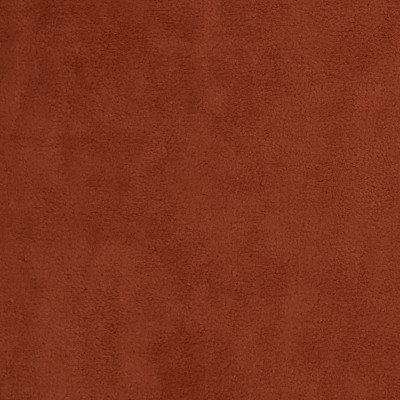 F3302 Clay Fabric: E89, SOLID, TEXTURE, FELT, PLUSH, SUEDE, ORANGE, CLAY