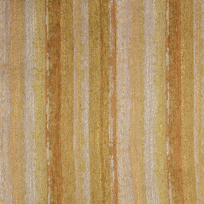 F3303 Amber Fabric: E89, MADE IN USA, STRIPE, CHENILLE, TEXTURE, YELLOW, AMBER