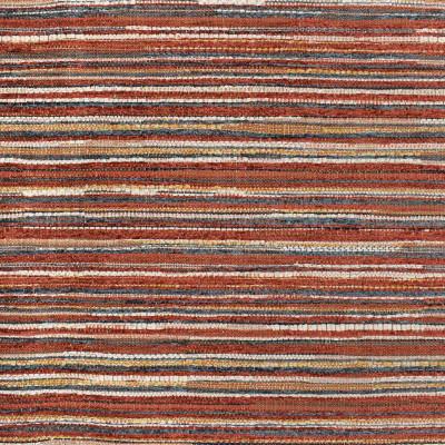 F3305 Cinnamon Fabric: E89, STRIPE, TEXTURE, RED, GRAY, GREY, CINNAMON