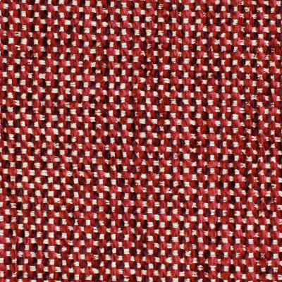 F3309 Berry Fabric: E89, MADE IN USA, DOT, CHENILLE, RED, BERRY