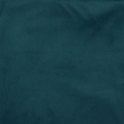 F3435 Petrol Fabric: E95, PERFORMANCE, ENDUREPEL, SOLID, VELVET, PLAIN, TEAL, EASY CLEAN FINISH, PETROL