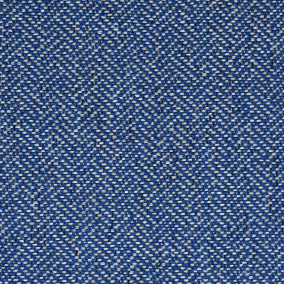 F3590 Blue Fabric: E94, PERFORMANCE, SUSTAIN, MADE IN USA, BLEACH CLEANABLE, HERRINGBONE, TEXTURE, BOUCLE, BLUE