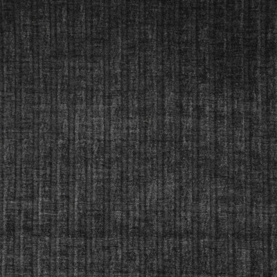 F3671 Black Fabric: E97,  BLACK, CHENILLE, STRIPE, PUCKERED, PLAIN