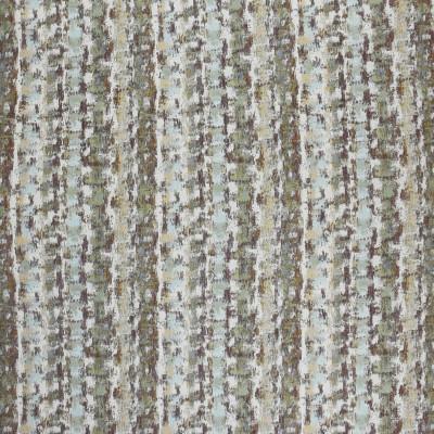 F3778 Teak Fabric: M06, CONTEMPORARY, LANDSCAPE, JACQUARD, CHENILLE, BROWN, BLUE, TEAK