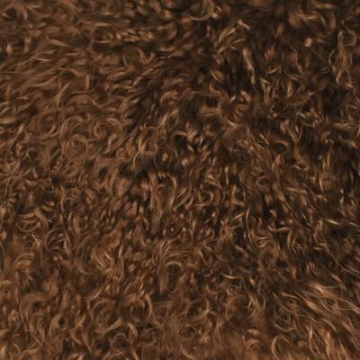 HOH018 Dusty Fabric: LEATHER, HOH, HAIR ON HIDE, ANIMAL, SHEEP, TIBETAN SHEEP, GOBI