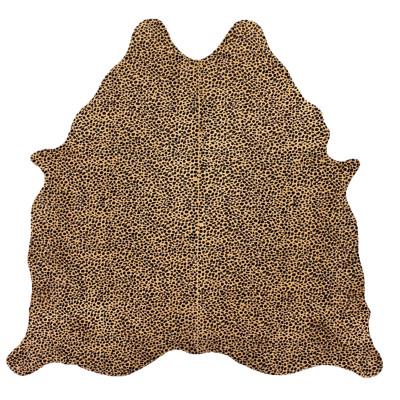 HOH028 Cheetah Fabric: CHEETAH, PRINTED, GOLD, ANIMAL, PRINTED COWHIDE, HOH, HAIR, HAIR ON HIDE, LEATHER