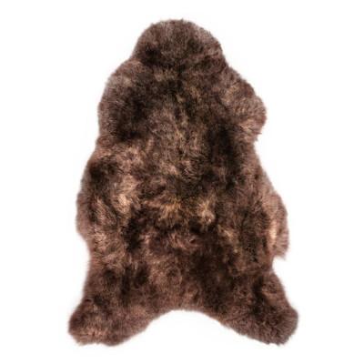 HOH039 Chestnut Fabric: CHESTNUT, BROWN, DARK BROWN, DK BROWN, SHORT HAIR, SHEEP SKIN, HOH, HAIR, HAIR ON HIDE, LEATHER