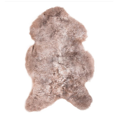 HOH041 Taupe Fabric: TAUPE, BROWN, LIGHT BROWN, SHORT HAIR, SHEEP SKIN, HOH, HAIR, HAIR ON HIDE, LEATHER