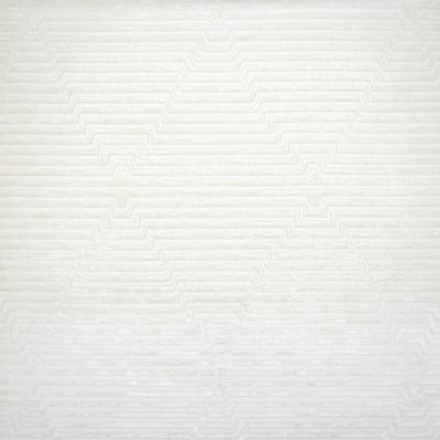 S1081 Ivory Fabric: S03, VELVET STRIPE, STRIPED VELVET, GEOMETRIC STRIPE, CONTEMPORARY VELVET, GEOMETRIC VELVET, WHITE VELVET, WHITE STRIPE VELVET, CREAM VELVET, CREAM STRIPE VELVET, PLUSH VELVET, MID CENTURY MODERN, MID CENTURY VELVET, ANNA ELISABETH