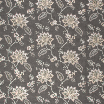 S1150 Heather Fabric: S04, ANNA ELISABETH, GRAY FLORAL, FLORAL GRAY, GRAY AND NEUTRAL FLORAL, GRAY AND PURPLE FLORAL, FLORAL GRAY FABRIC, GRAY, GREY