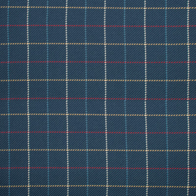 S1162 Navy Fabric: S05, PLAID TEXTURE, PLAID WOVEN BLUE, BLUE PLAID, NAVY PLAID, ANNA ELISABETH