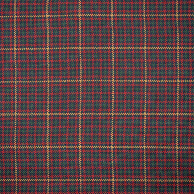 S1163 Cherry Fabric: S05, GREEN PLAID, RED PLAID, GREEN WOVEN PLAID, RED WOVEN PLAID,  ANNA ELISABETH