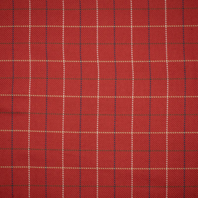 S1194 Sumac Fabric: S05, ANNA ELISABETH, CHECK RED, RED CHECK, WOVEN RED, WOVEN