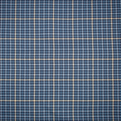 S1195 Midnight Blue Fabric: S05, ANNA ELISABETH, BLUE PLAID, BLUE CHECK, BLUE WOVEN, WOVEN BLUE CHECK, WOVEN BLUE PLAID