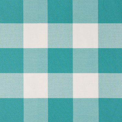 S1227 Aquamarine Fabric: S06, OUTDOOR, TEAL BUFFALO PLAID, TEAL BUFFALO CHECK, OUTDOOR BUFFALO PLAID, PLAID, OUTDOOR PLAID, CHECK, OUTDOOR CHECK
