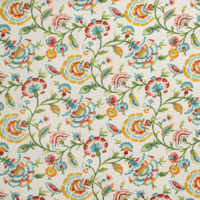 S1275 Primavera Fabric: S07, ANNA ELISABETH, FLORAL PRINT, NEUTRAL FLORAL, FLORAL MULTICOLOR, NEUTRAL PRINT