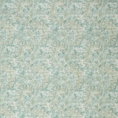 S1279 Azure Fabric: S07, COTTON, 100% COTTON, ANNA ELISABETH, SCROLL PRINT, COTTON SCROLL, COTTON PRINT, BLUE PRINT, GREEN PRINT, BLUE SCROLL, GREEN SCROLL