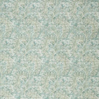 S1279 Azure Fabric: S07, COTTON, 100% COTTON, ANNA ELISABETH, SCROLL PRINT, COTTON SCROLL, COTTON PRINT, BLUE PRINT, GREEN PRINT, BLUE SCROLL, GREEN SCROLL