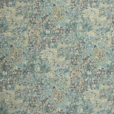 S1288 Peacock Fabric: S07, COTTON, 100% COTTON, ANNA ELISABETH, CONTEMPORARY GREEN, CONTEMPORARY BLUE, BLUE PRINT, GREEN PRINT, CONTEMPORARY PRINT