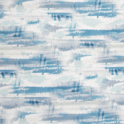 S1291 Aquatic Fabric: S07, COTTON, 100% COTTON, ANNA ELISABETH, BEACH PRINT, BLUE BEACH, WHITE BEACH, CONTEMPORARY BLUE, CONTEMPORARY WHITE