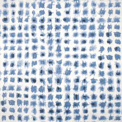 S1293 Indigo Fabric: S07, COTTON, 100% COTTON, ANNA ELISABETH, DOT BLUE, DOT PRINT, BLUE DOT, BLUE PRINT, CONTEMPORARY BLUE DOT