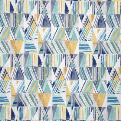 S1307 Bluestone Fabric: S07, COTTON, 100% COTTON, ANNA ELISABETH, GEOMETRIC BLUE, GEOMETRIC YELLOW, BLUE PRINT, YELLOW PRINT, YELLOW CONTEMPORARY, BLUE CONTEMPORARY