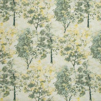 S1321 Cloud Mist Fabric: S07, COTTON, 100% COTTON, ANNA ELISABETH, GREEN PRINT, YELLOW PRINT, TREE, GREEN FLORAL, YELLOW FLORAL