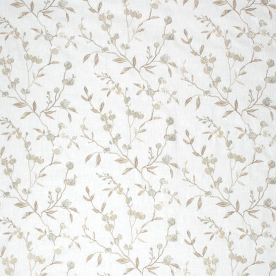 S1332 Glow Fabric: S08, EMBROIDERY, ANNA ELISABETH, NEUTRAL FLORAL EMBROIDERY, FLORAL EMBROIDERY, NEUTRAL FLORAL, NEUTRAL AND BLUE