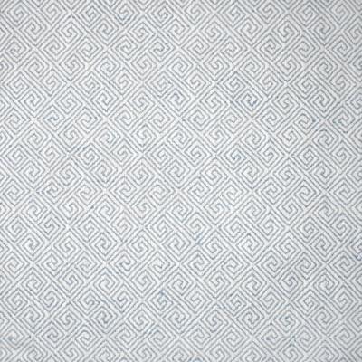 S1355 Sky Fabric: S08, ANNA ELISABETH, GEOMETRIC BLUE, BLUE GEOMETRIC, WOVEN BLUE GEOMETRIC, WOVEN GEOMETRIC, BLUE WOVEN