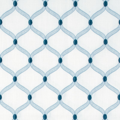 S1359 Marina Fabric: S08, EMBROIDERY, ANNA ELISABETH, BLUE EMBROIDERY, EMBROIDERY BLUE, BLUE GEOMETRIC, GEOMETRIC BLUE, GEOMETRIC BLUE EMBROIDERY
