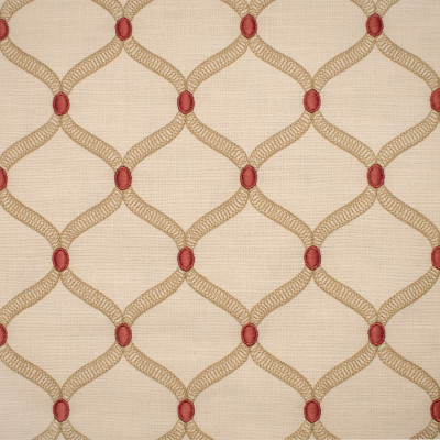 S1378 Sumac Fabric: S08, EMBROIDERY, ANNA ELISABETH, NEUTRAL EMBROIDERY, EMBROIDERY NEUTRAL, GEOMETRIC NEUTRAL, NEUTRAL GEOMETRIC, NEURTAL AND RED, RED AND NEUTRAL, RED EMBROIDERY, EMBROIDERY RED