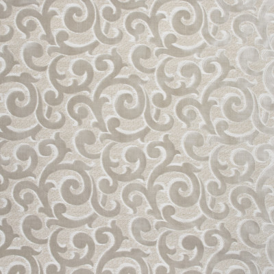 S1391 Moonglow Fabric: S09, ANNA ELISABETH, SCROLL VELVET, NEUTRAL VELVET, CUT VELVET, NEUTRAL SCROLL VELVET