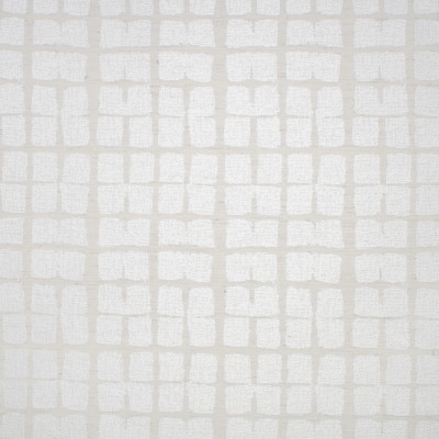 S1410 Chalk Fabric: S09, ANNA ELISABETH, METALLIC GEOMETRIC, GEOMETRIC WOVEN METALLIC, WOVEN GEOMETRIC, GEOMETRIC METALLIC, SQUARE GEOMETRIC PATTERN, SQUARE PATTERN FABRIC