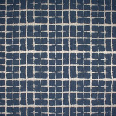 S1433 Navy Fabric: S10, WOVEN BLUE, WOVEN PLAID, WOVEN BLUE PLAID, BLUE PLAID, ANNA ELISABETH