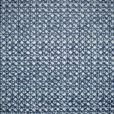 S1444 Lapis Fabric: S10, BLUE CHENILLE, CHENILLE BLUE, GEOMETRIC BLUE CHENILLE, GEOMETRIC BLUE, BLUE DIAMOND, DIAMOND CHENILLE, BLUE DIAMOND CHENILLE,  ANNA ELISABETH, CONTEMPORARY CHENILLE