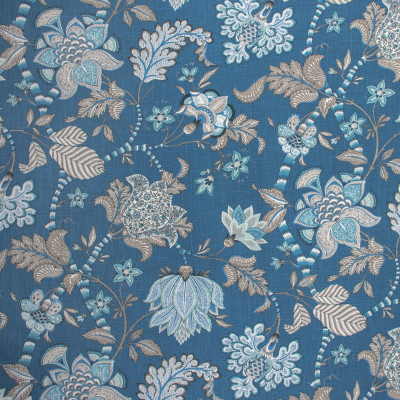 S1450 Sapphire Fabric: S10, FLORAL BLUE PRINT, FLORAL BLUE, FLORAL PRINT, BLUE FLORAL PRINT, ANNA ELISABETH