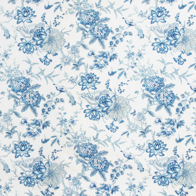 S1454 Cielo Fabric: S10, FLORAL PRINT, BLUE FLORAL, FLORAL BLUE, BLUE FLORAL PRINT, BLUE PRINT,  ANNA ELISABETH