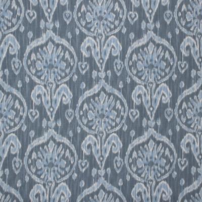 S1460 Blue Fabric: S10, COTTON, 100% COTTON, IKAT BLUE PRINT, IKAT BLUE, IKAT PRINT, BLUE IKAT PRINT,  ANNA ELISABETH